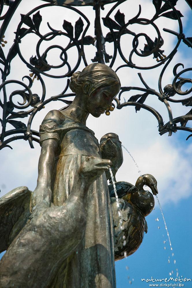 Gänseliesel, Brunnenstatue vor dem Göttinger Rathaus