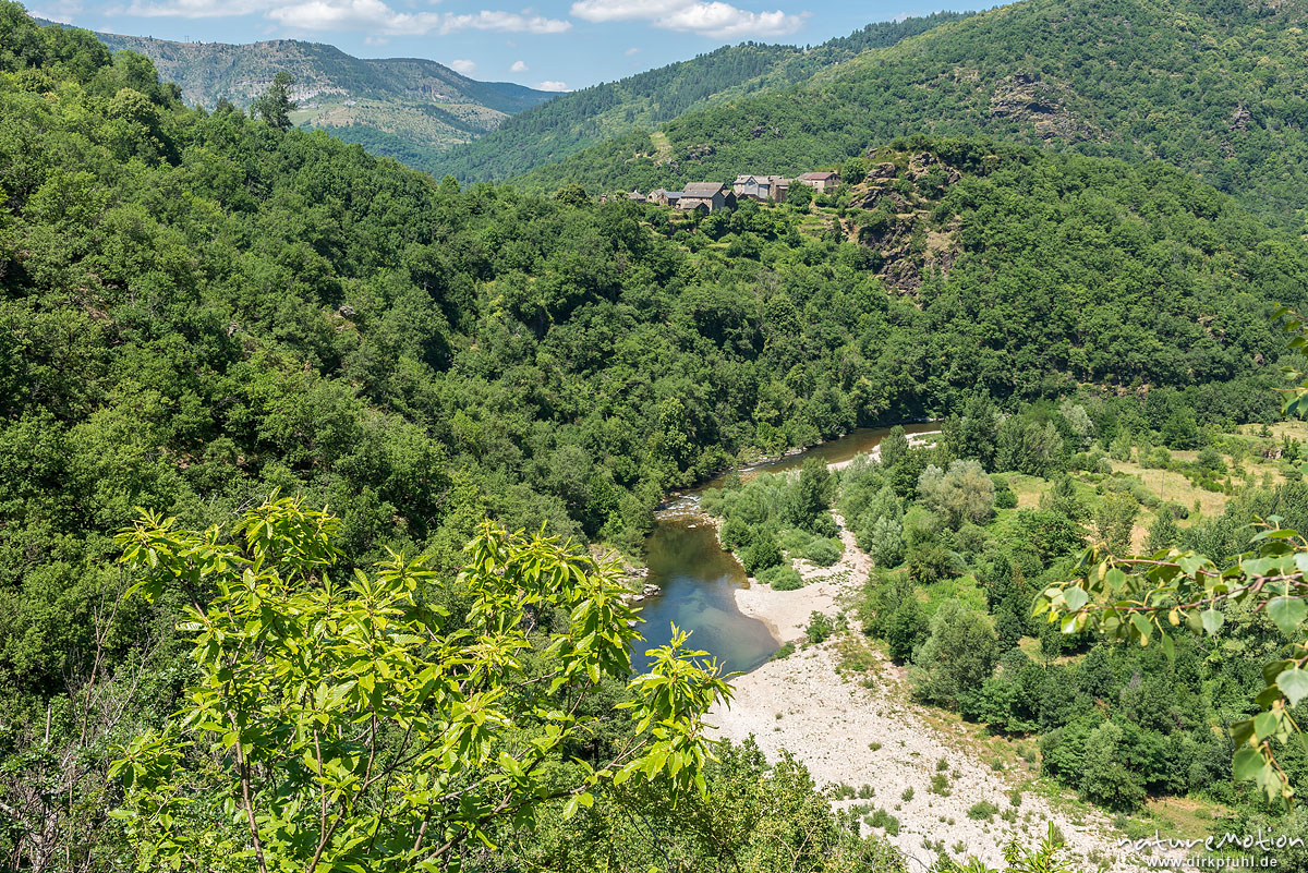 Tal des Tarn, Le Fayet, Florac, Frankreich
