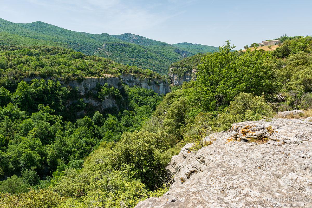 Tal des Aigue Brun, Bonnieux - Provence, Frankreich