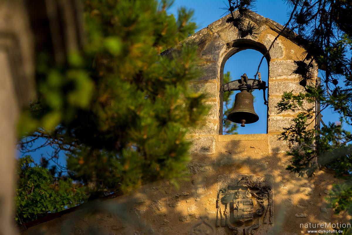 Glockenstuhl, Kapelle St-Massian, Apt - Provence, Frankreich