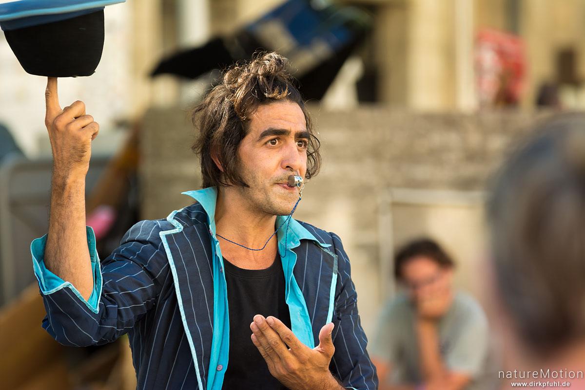 Strassenkünstler, Strassenszenen, Festival Avignon, Avignon, Frankreich