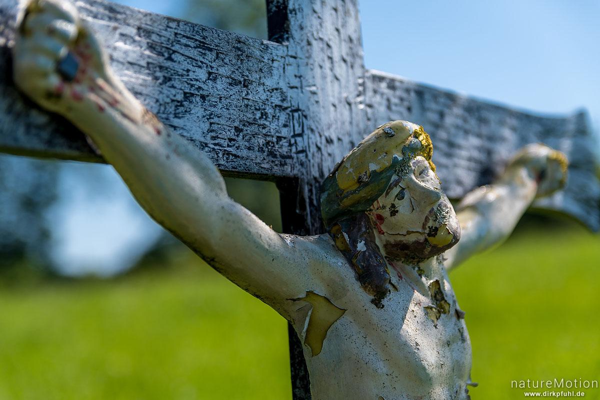 Wegkreuz, Kruzifix, Argensee, Gebrazhofen, Deutschland