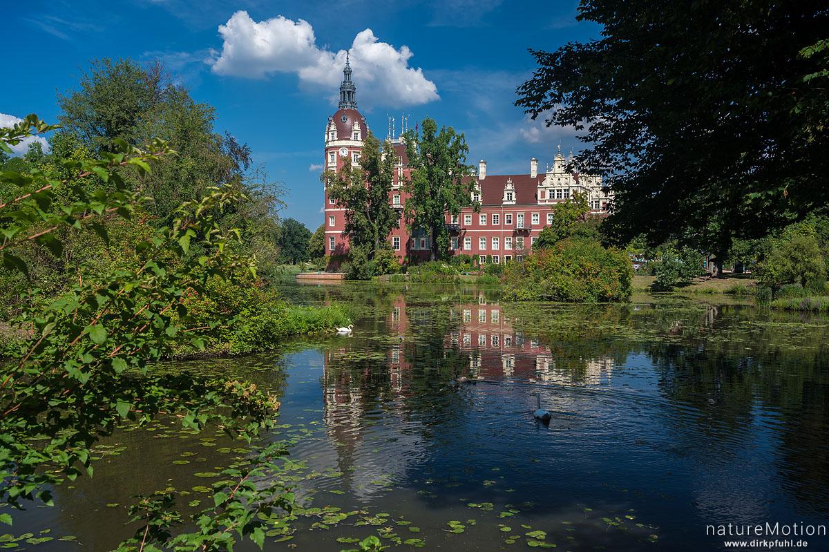 Fürst-Pückler-Park, Schloss Muskau, Bad Muskau, Deutschland