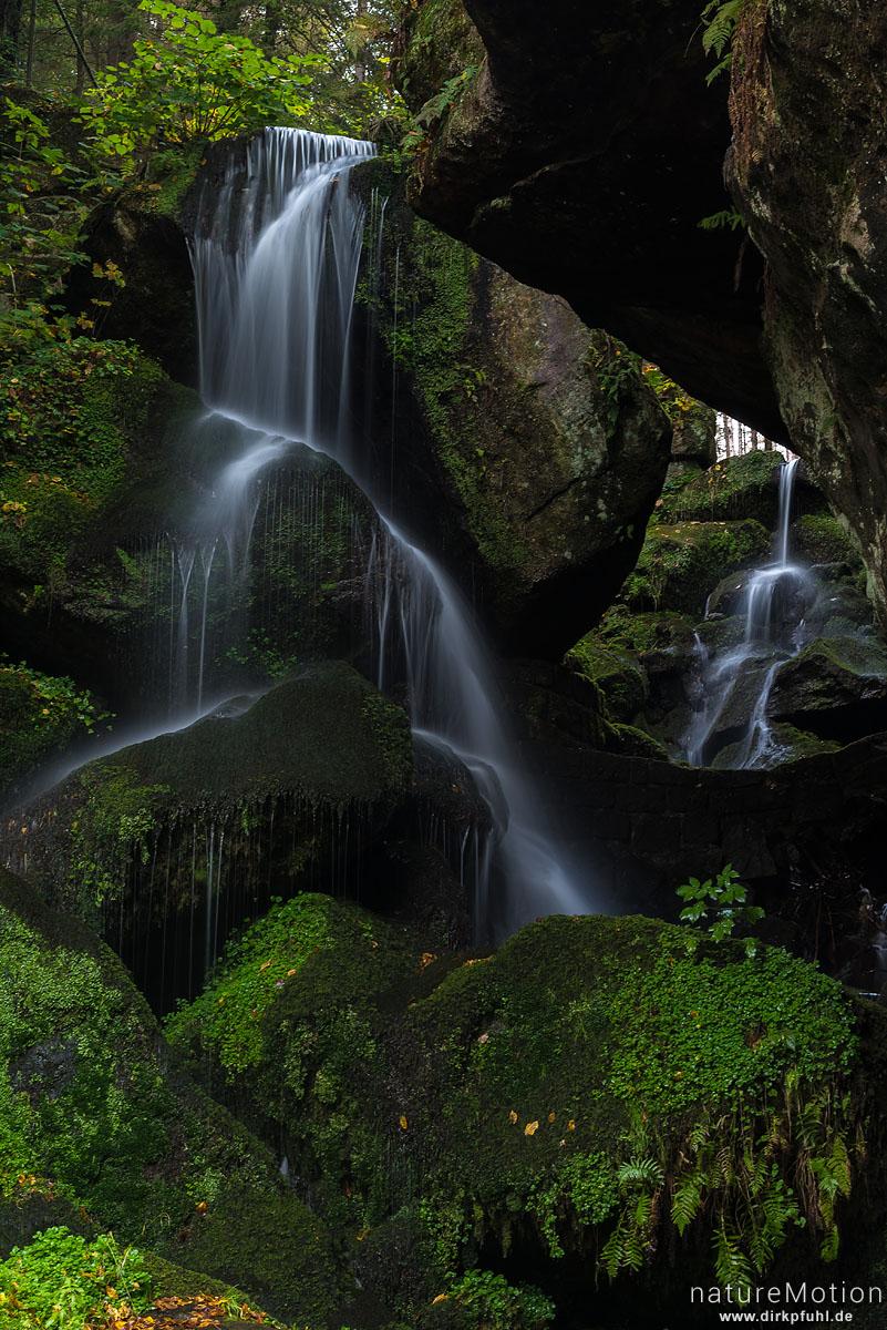 Lichtenhainer Wasserfall, Bad Schandau, Deutschland