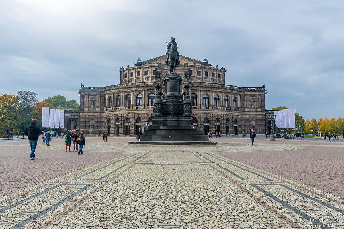 Semperoper, Dresden, Deutschland