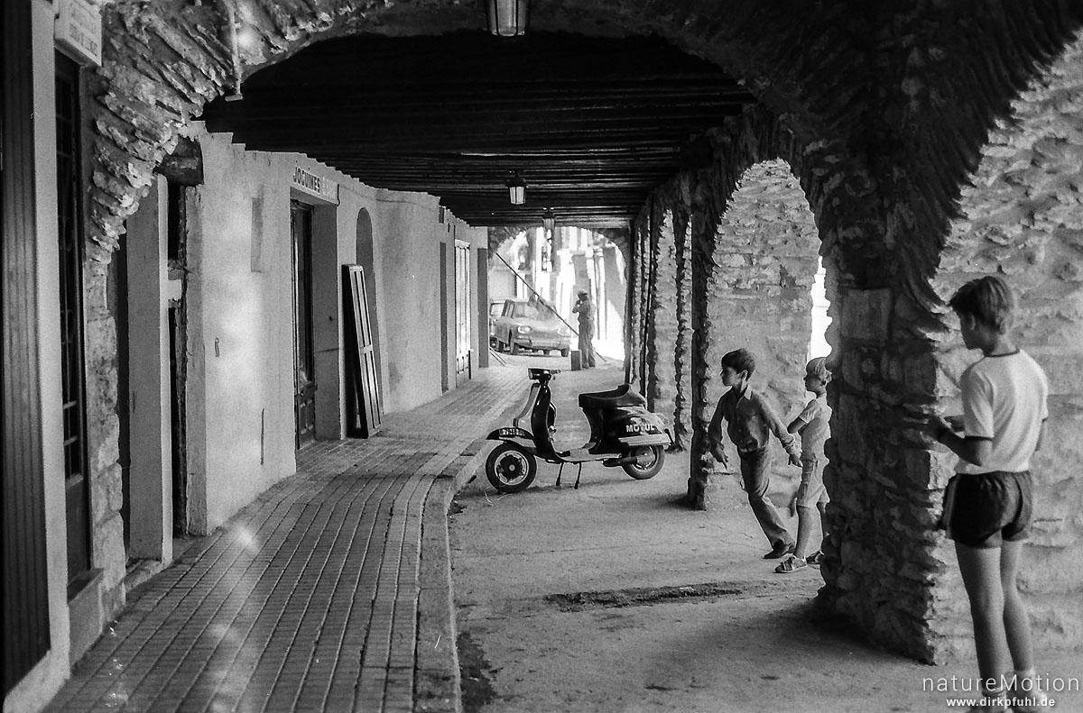 Strassenszene, Seu le d'Urgel, Spanien