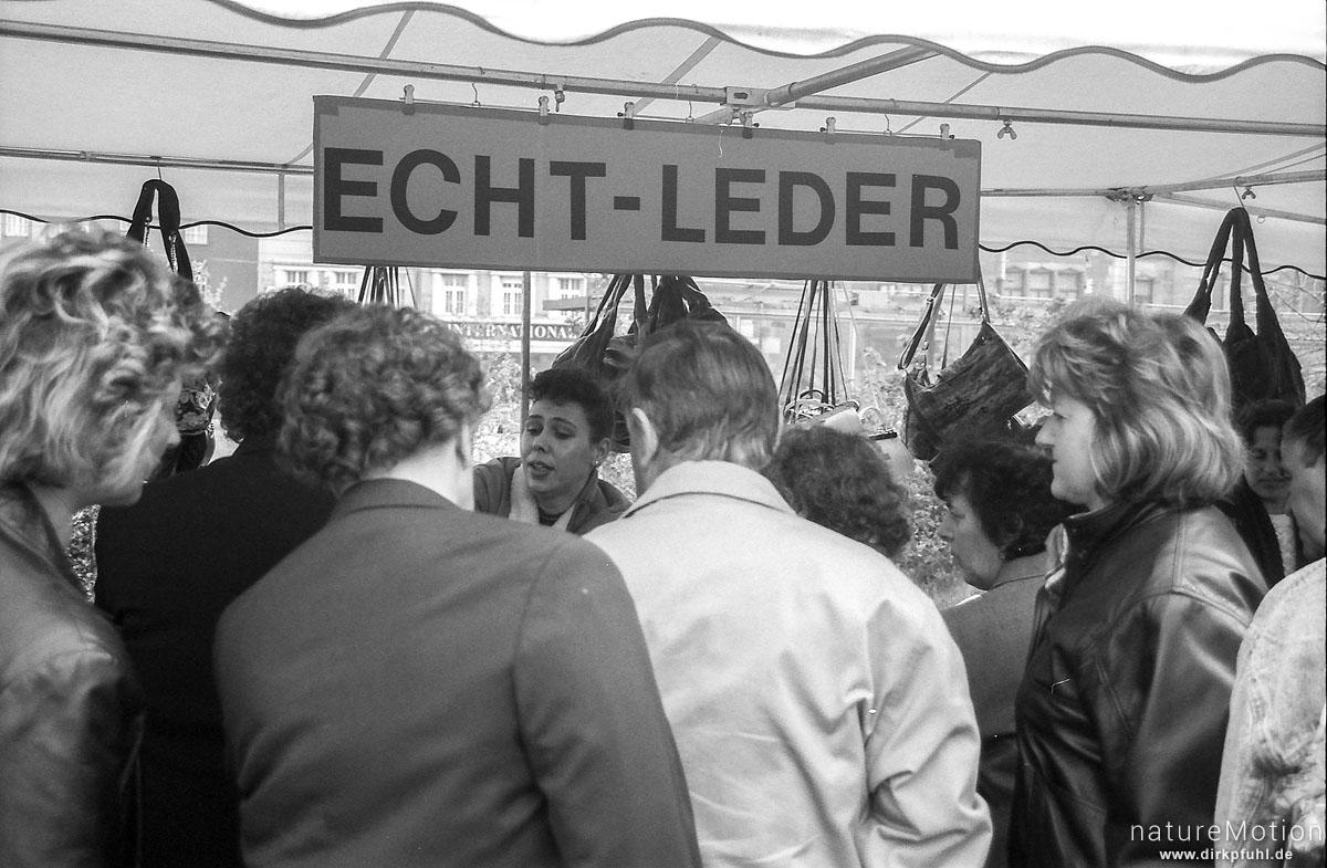 Marktstand, Leipzig, Deutschland
