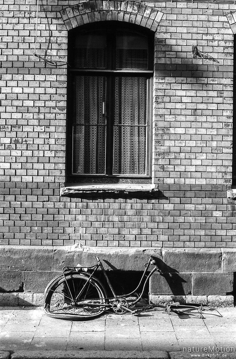 kaputtes Fahrrad, Göttingen, Deutschland