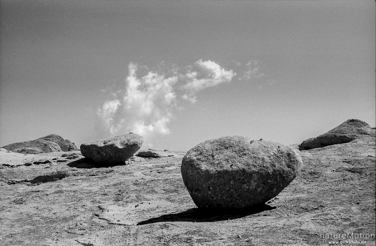 Steine, Wanderung GR 20, Korsika, Frankreich