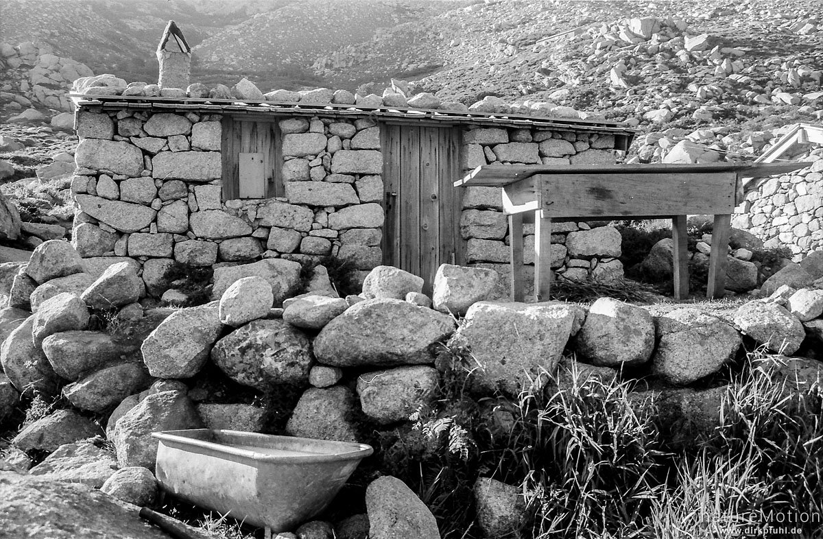 Bergerie, Wanderung GR 20, Korsika, Frankreich