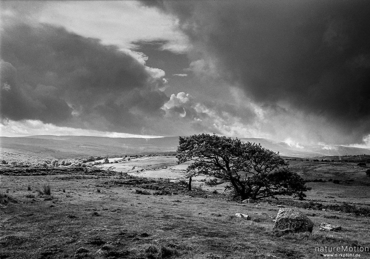 Regenwolken, Brecon Beacons, Wales, England - Großbrittanien